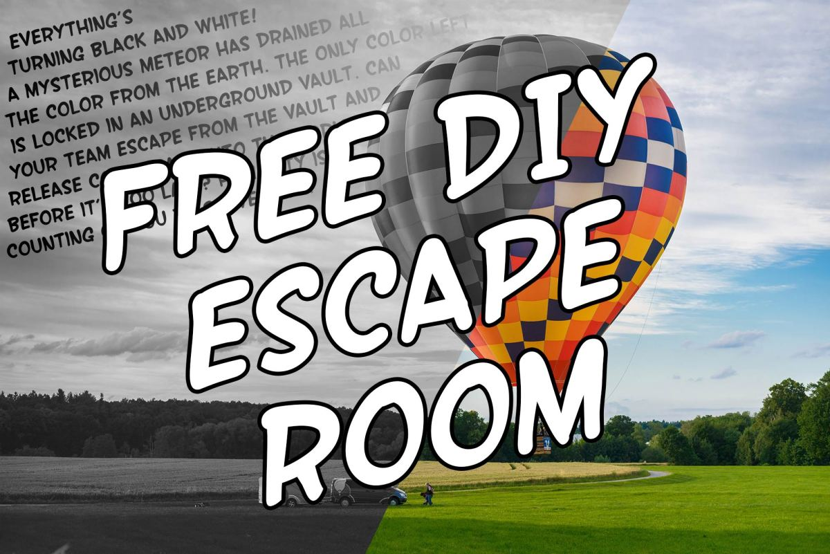 Free Diy Escape Room Kits The Game Gal