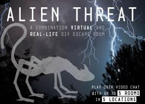 New totally unique VIRTUAL escape room kit!