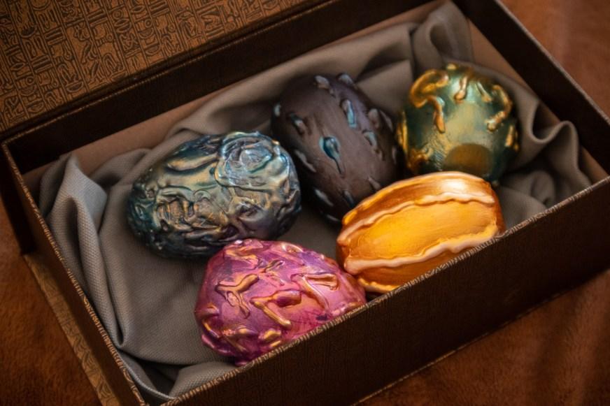 dragon eggs for diy harry potter escape room