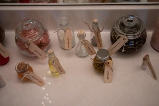 potion ingredient bottles for diy escape room