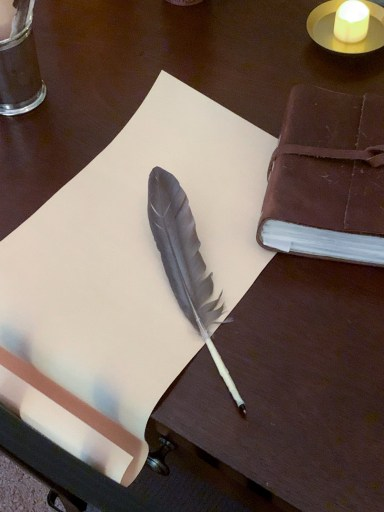 feather quill idea for harry potter escape room