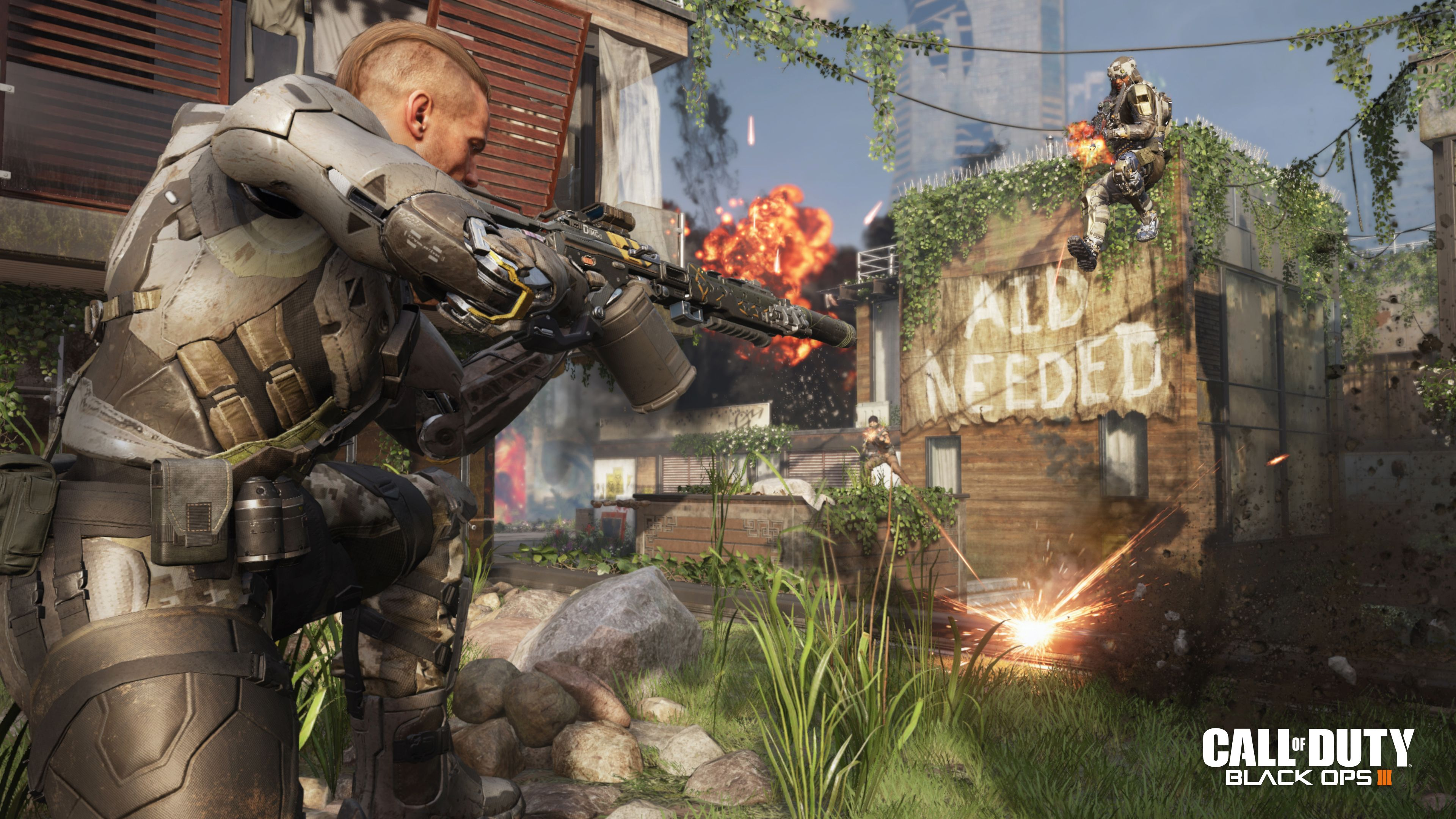 Call Of Duty Black Ops III Gets New Batch Of 4K