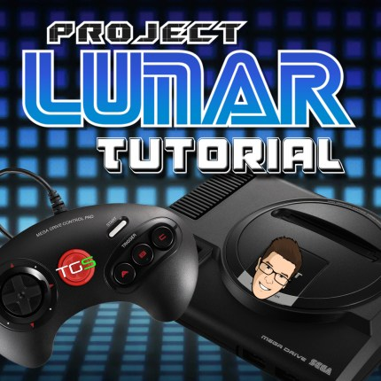 project lunar mega drive mini square