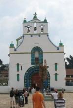 The church of San Jan Chamula