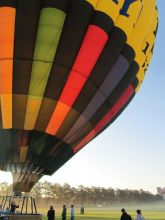 plan my gap year experiences: balloon flight