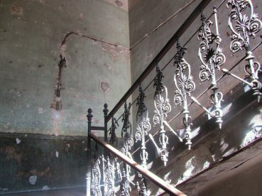 life behind the Iron Curtain - communal stairway