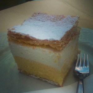 Bled cake, Slovenia