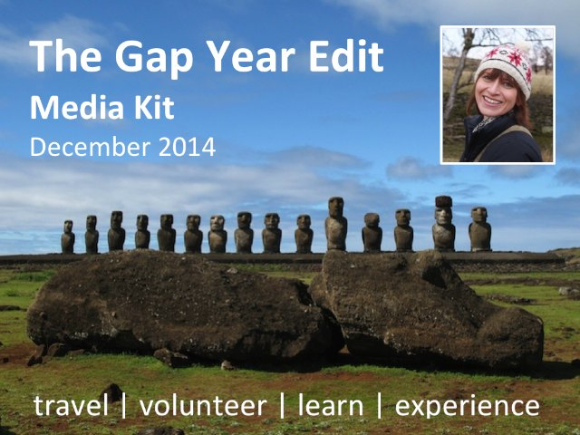 The Gap Year Edit Media Kit. Work with me Julie Sykes