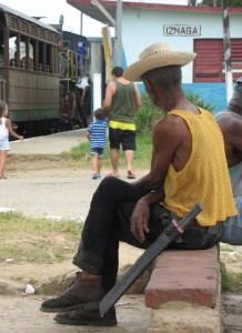 what to expect in Cuba - machete