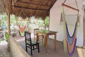 outdoor classes at La Mariposa Spanish language school Nicaragua
