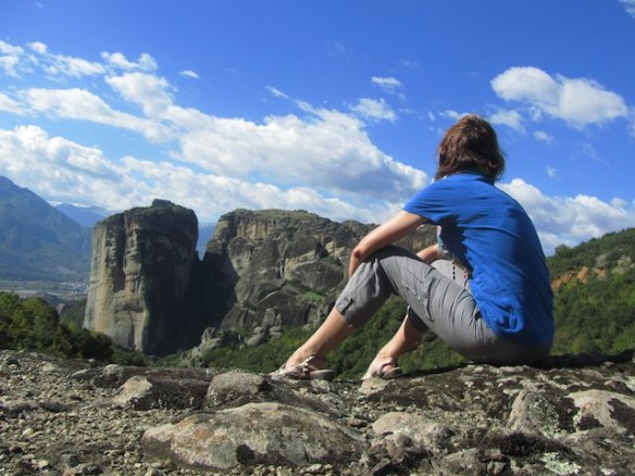 Why my career break makes me a better employee. New eyes at Meteora, Greece.