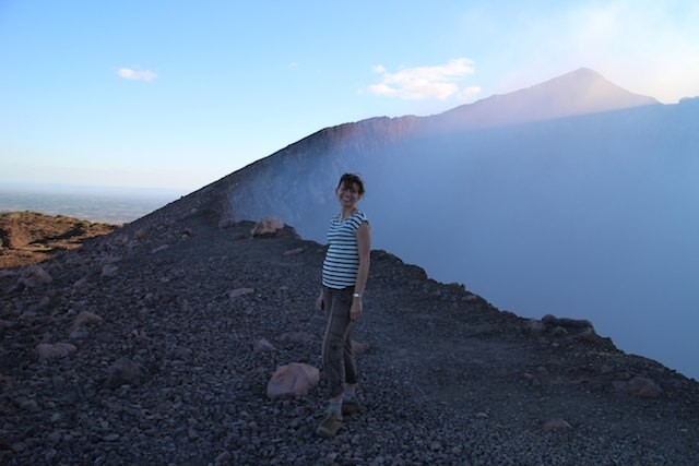experiences before I did: Volcan Telica crater - volcano Nicaragua