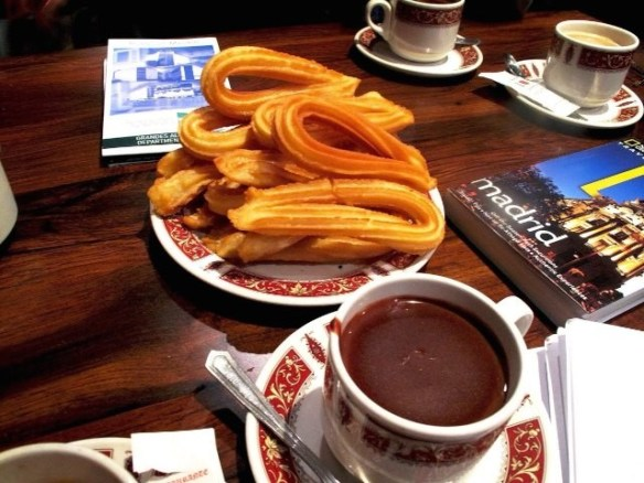 24 hours in Madrid: churros and chocolate