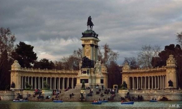 24 hours in madrid: Parque del Retiro