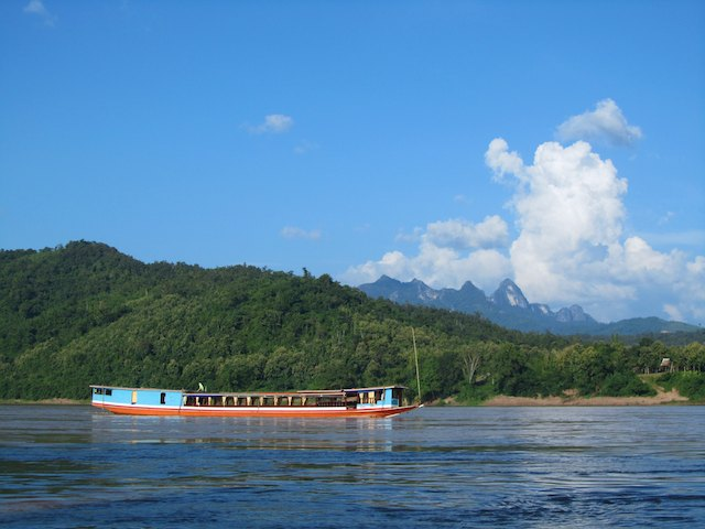 how to save for travel - Mekong River