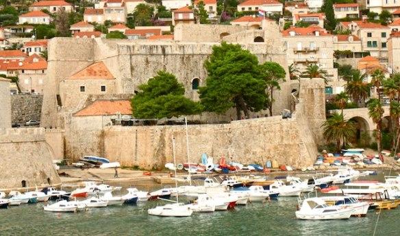 Split or Dubrovnik? City walls, Dubrovnik