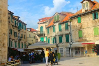 Split or Dubrovnik? Cafe culture in Split