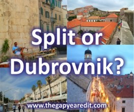 Split or Dubrovnik?