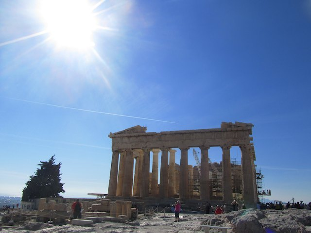 Travel by Instagram - The Acropolis, Athens, Greece