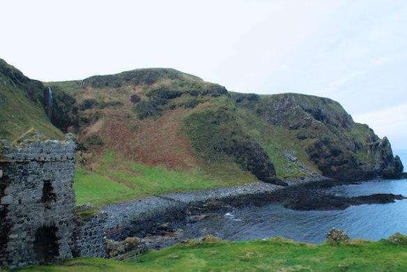 Kinbane Castle Northern Ireland