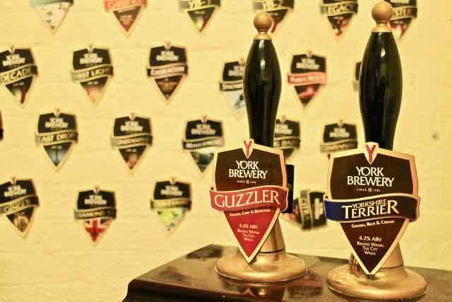York Brewery - York city walls walk