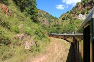 El Chepe, the Copper Canyon railway train