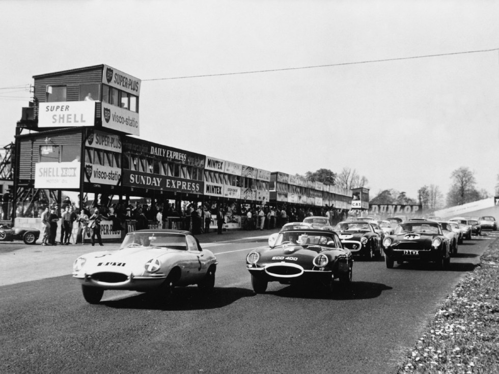 E-Type Oulton Park 1961