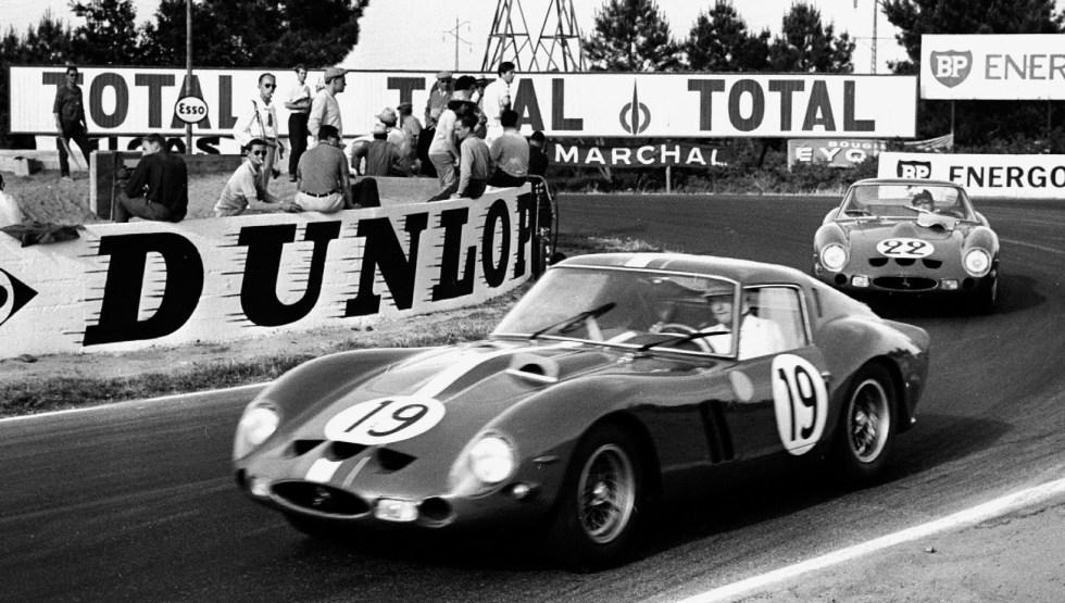 1962 24 HEURES DU MANS #19 Ferrari (Pierre Noblet) Jean Guichet (F) - Pierre Noblet (F) - () - res02 , #22 Ferrari (Equipe Nationale Belge) Jean Blaton dit Beurlys (B) - Leon Dernier (B) - () - res03