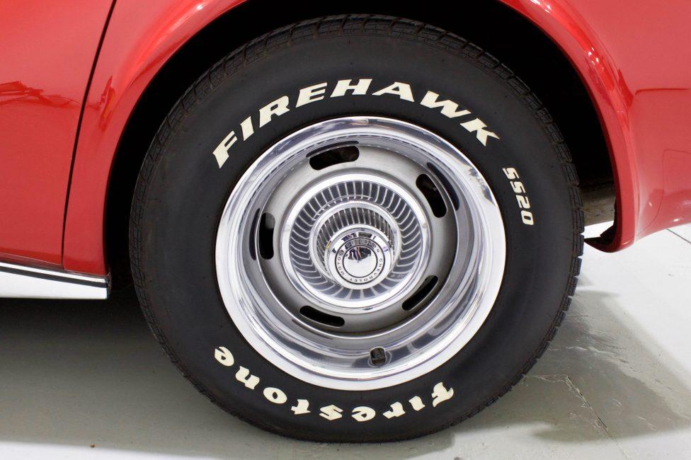 1972 Corvette Stingray Targa pneu