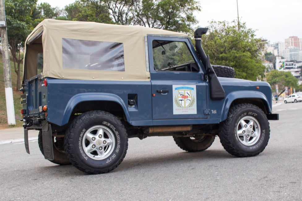 1997 Land Rover Defender Soft Top