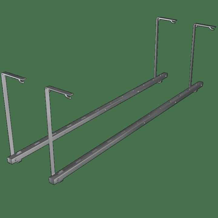 Ladder Hanger Silver