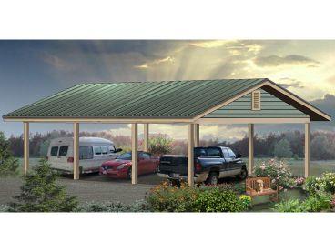 Carport Plans Oversized Carport Plan Offers Car Or Boat