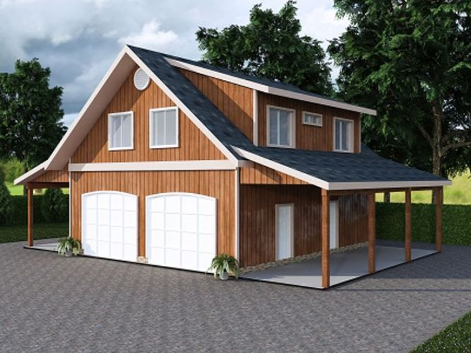 Garage With Carport Plans | Amazing House Plans