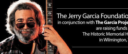 The Jerry Garcia Foundation in conjunction with The Garcia Project are raising funds for the Historic Memorial Hall in Wilmington, VT