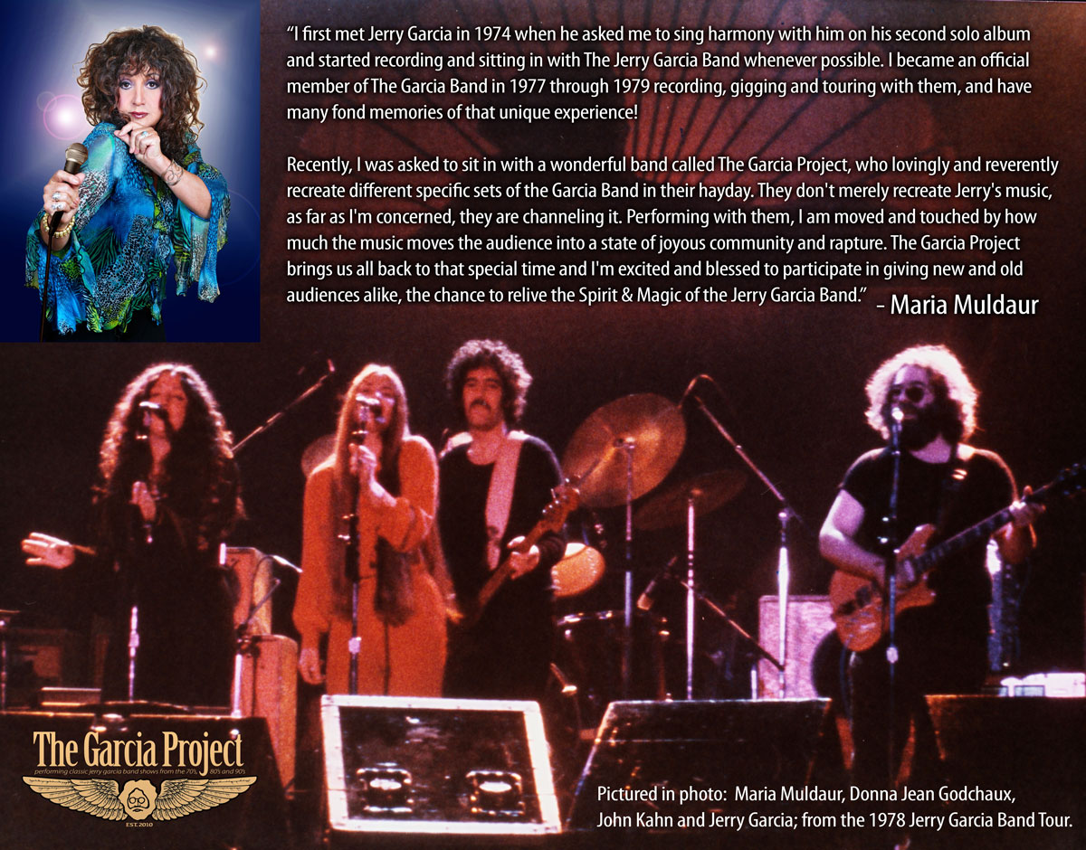 The Garcia Project, the nations top tribute band of The