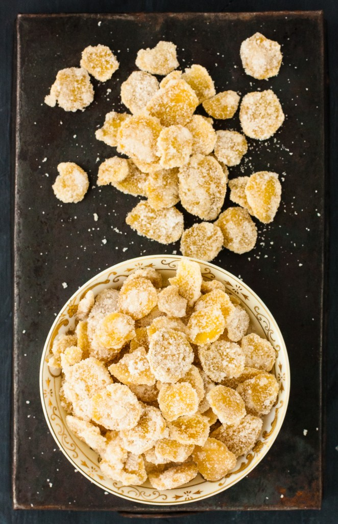 Crystallized Ginger Cand