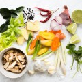 Asian Vegetables, Aromatics, and Herb