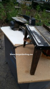 Turn that old filing cabinet into a rolling work bench