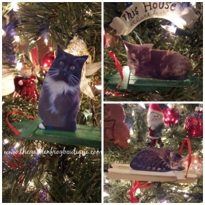 Create a Pet Photo Craft Stick Sled Ornament