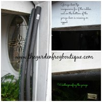Garage Tip- a Simple Fix for the Bottom Garage Door Seal