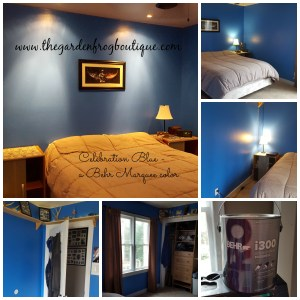 My Teenage Son's Bedroom Makeover with Behr Pro i300 Interior Paint