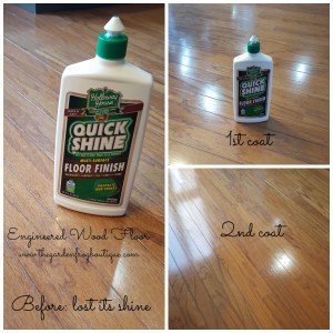 How I Shined my Wood Floors for $6, engineered wood floor, hardwood floors, shine wood floor hack
