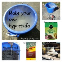 How to Make Hypertufa for Garden Projects