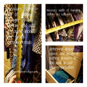 Design and create an organized closet