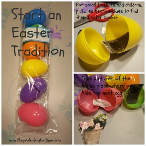 Start an Easter basket hunt tradition with your children