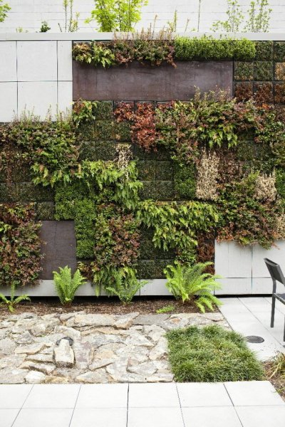 vertical wall garden design Gardening Inspiration: What Simple and Extreme Gardens Can