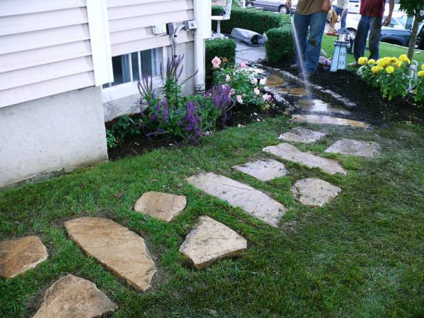 DIY Garden Paths And Backyard Walkway Ideas • The Garden Glove on Backyard Walkway Ideas id=98670