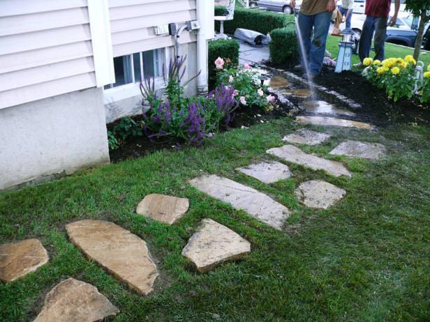 DIY Garden Paths And Backyard Walkway Ideas • The Garden Glove on Backyard Walkway Ideas id=70953