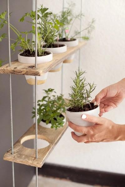 indoor herb garden 14 Brilliant DIY Indoor Herb Garden Ideas | The Garden Glove