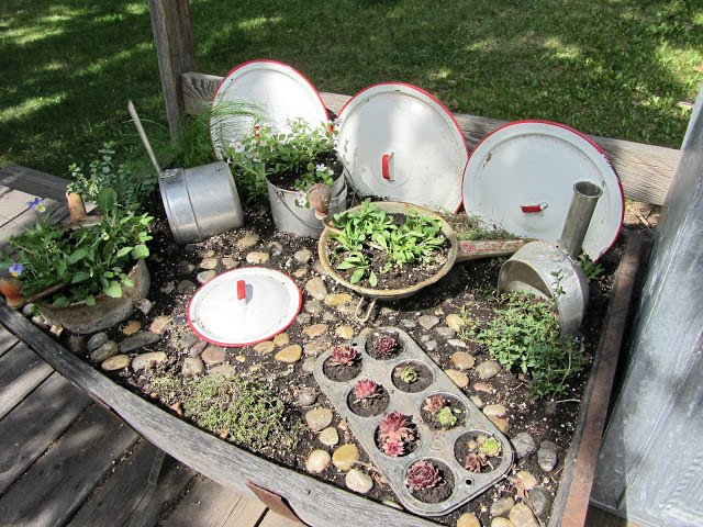 kitchen fairy garden 2